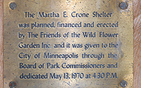 Shelter Dedication Plaque