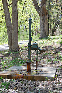 Hand Pump at Great Medicine Spring