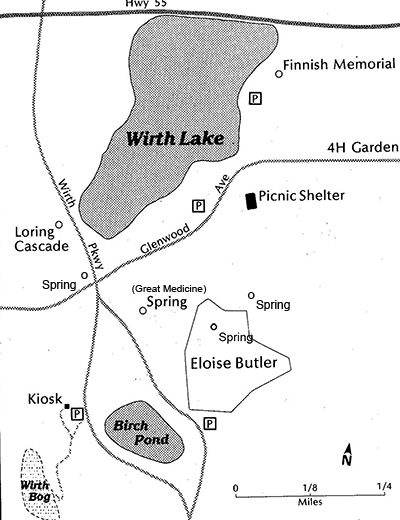 map of wirth park springs