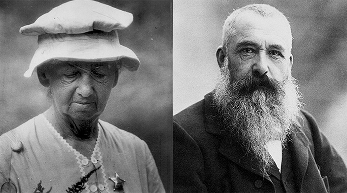 Eloise and Claude Monet