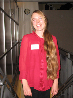 Susan at volunteer party